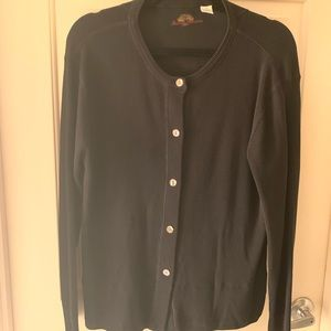 Black Tommy Bahama cardigan